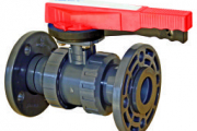 U-PVC Küresel Asit Vanası Çift Taraf İçten Dişli (Pozisyon Ayarlı) EPDM