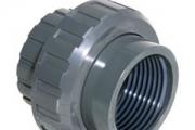 U-PVC Yapıştırma Muflu Rakor (FPM Contalı)