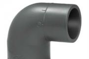 UH-PVC Y.M. Redüksiyonlu 90° Dirsek