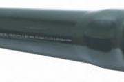 U-PVC Geçme Muflu, Basınçlı İçme Su Borusu PN 4