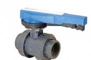 U-PVC Y.Muflu Küresel Su Vanası Tek Taraf içten Dişli (Pozisyon Ayarlı)